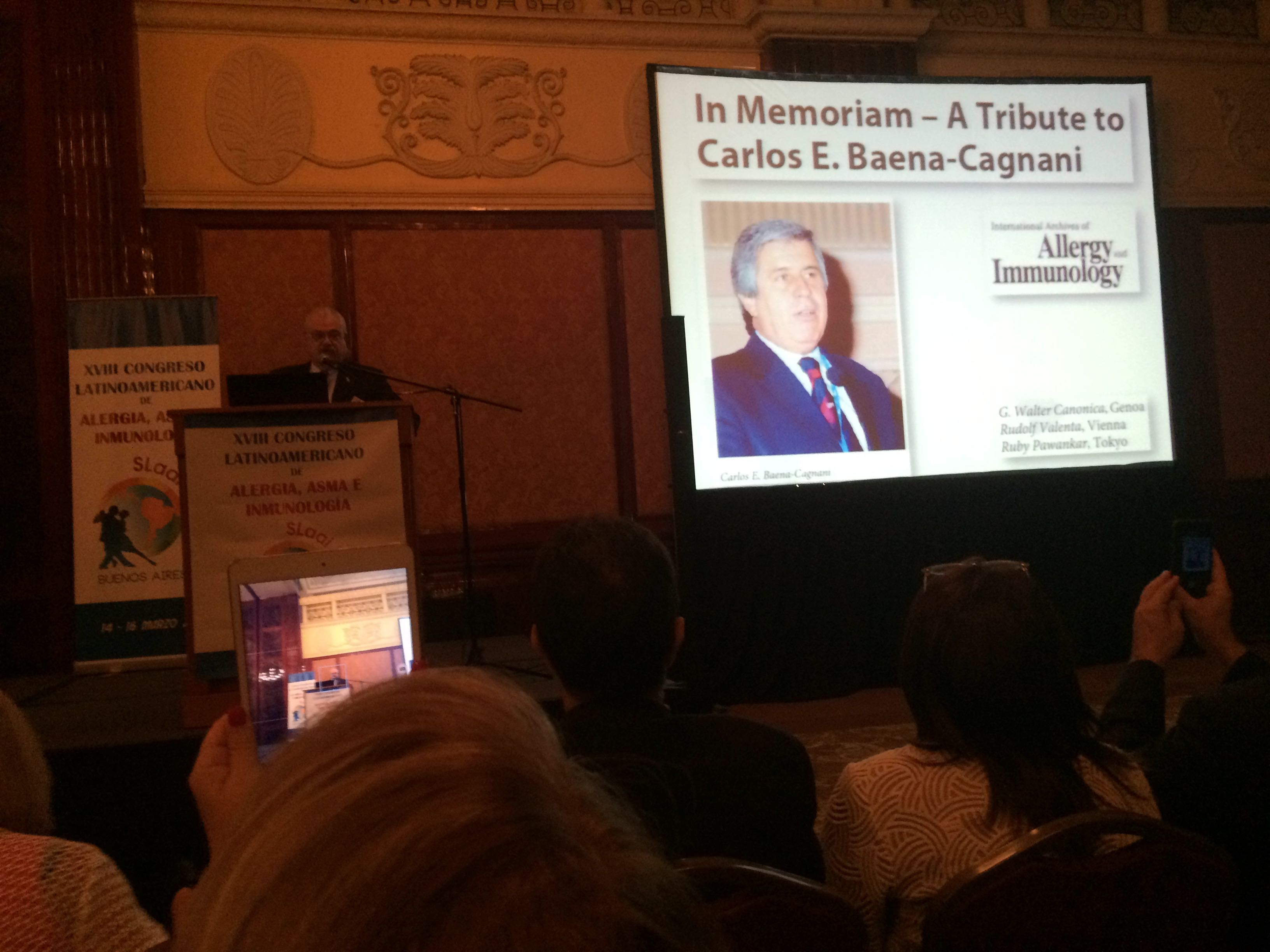 prof-g-walter-canonica-in-memorian-a-tribute-to-carlos-e-baena-cagnani-in-the-latin-american-congress-slaai2015